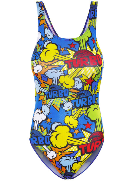 Turbo Pop Turbo - Maillot de bain Femme - Multicolore